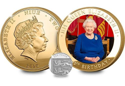 The Queen Elizabeth II 90th Birthday Supersize Coin