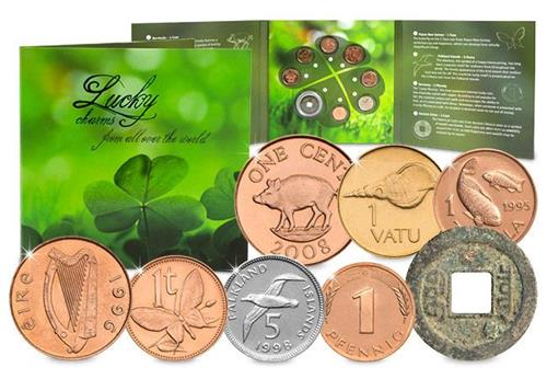 All the Luck in the World Coin Set