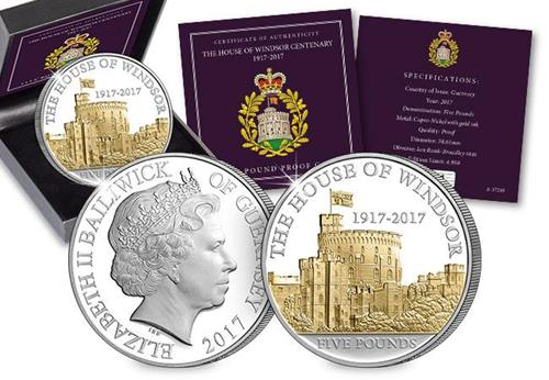 House of Windsor 100th Anniversary £5 Proof Coin