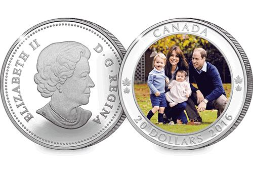 Will and Kate Royal Tour Obverse/Reverse