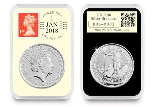 2018 Silver Britannia DateStamp Everslab