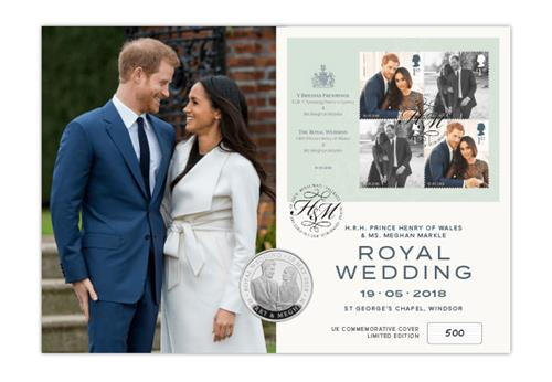 Royal Wedding Hm Uk Coin And Stamp Cover Web Images Cover