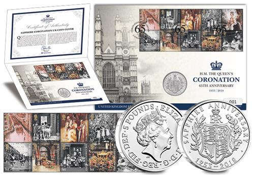 Coronation Uk Coin And Stamp Cover