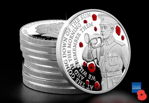 Wwi Armistice 100Th Guernsey Silver Proof Coin Lifestyle