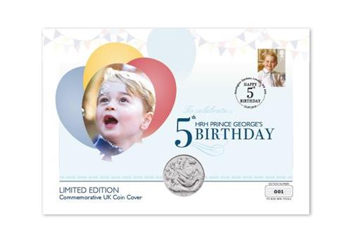 Dn Prince George 5Th Birthday Pnc Coin Cover Product Images4