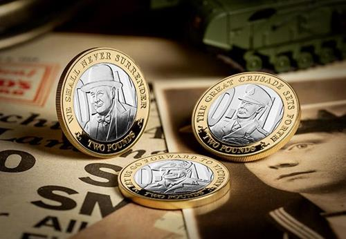 D Day 75Th Leaders Iom Silver Proof Two Pounds Three Coin Set Lifestyle