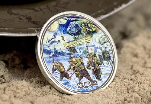Numisproof D Day 75Th 2Oz Silver Proof Commemorative Lifestyle