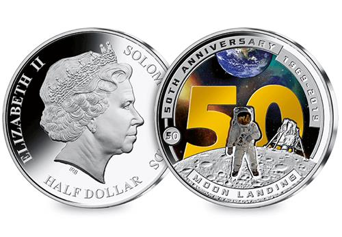 At 2019 Moon Landing 50Th Half Dollar Obverse Reverse 1