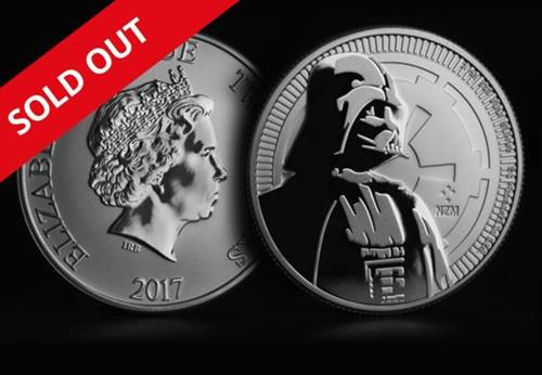 Darth Vader Coin Sold Out